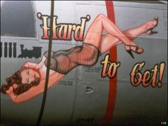 Navy Airplane Pin Up Girls | Aircraft Nose Art are personalized designs that were inspired by some ...