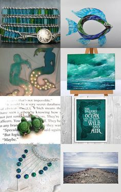 Under (and on!) the Sea by Sara Smelt on Etsy--Pinned with TreasuryPin.com