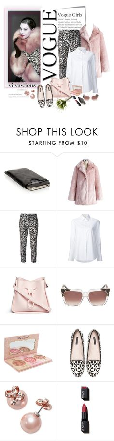 """""""vogue girls"""" by emcf3548 ❤ liked on Polyvore featuring Post-It, Dolce&Gabbana, Chicwish, Alberto Biani, Misha Nonoo, 3.1 Phillip Lim, Pared, Too Faced Cosmetics, Zara and Kate Spade"""