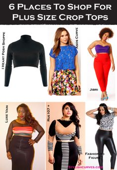 ASK SC: 6 PLACES TO SHOP FOR PLUS SIZE CROP TOPS