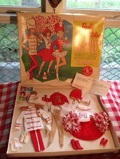 Vintage Barbie Ken Pep Rally Gift Set 1960s, via Etsy by SekkoyyaRoseVintage, $735.00