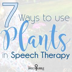 Confession, I don't have a green thumb despite years of trying. I'm pretty sure if flowers had legs, they would run when I walked into a nursery. One place where I can share my love of plants, without the worry of them making it, is my speech room. Today, I am sharing 7 ways you […]