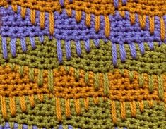 cool crochet stitch by valeria