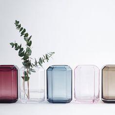 Jewel Vase Blue
