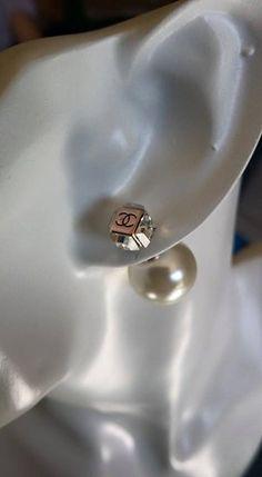 Boucles d'oreilles Tendances Diam/Blanc
