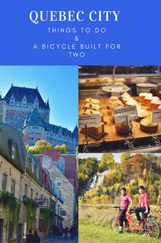 Quebec City, Canada, Bicycle, Montmorency Falls, Foodie Tour