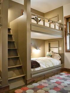 Diseño de Interiores & Arquitectura: 40 Ideas Para Diseñar el Dormitorio de los Niños.