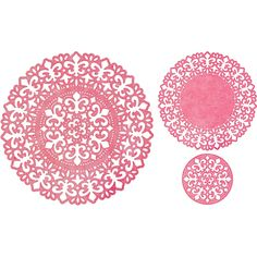 Cheery Lynn Designs - Fleur De Lis Doily (Set of 2) - DL304, $24.95 (http://www.cheerylynndesigns.com/fleur-de-lis-doily-set-of-2-dl304/)