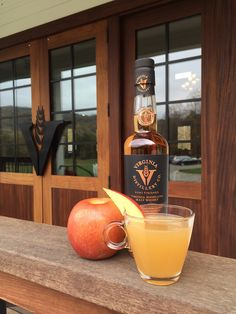 RECIPE: Black Vest (makes one cocktail);  1½ ounces Virginia Highland Malt Whisky 5 ounces apple cider ½ ounce mulled spice simple syrup* ½ ounce lemon juice Apple slice to garnish  1. Combine all ingredients in a glass. 2. Stir, add ice, and garnish with apple slice. *See website for full recipe.