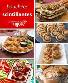 Every great party needs some amazing appetizers to get things off to a tasty start. Check out an assortment of party-perfect apps to make your menu a hit. Tap or click photo for these easy Party Appetizer New Year's Desserts, Christmas Desserts Easy, Cute Desserts, Christmas Goodies, Simple Christmas, Christmas Recipes, Christmas Time, Quick And Easy Appetizers, Easy Appetizer Recipes