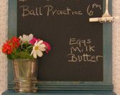 For the kitchen, or any Room Chalk Paint Frame it, Great For Kid's Room's to