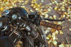 Bryan's Blacked out CB550 ~ Return of the Cafe Racers