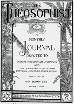 The Theosophical Network site has uploaded the first six volumes of The Theosophist, 1879-1885, the volumes that carry H.P. Blavatsky's name as editor. Selected volumes of the journal have been available on line, but this is the first time that this much has been accessible. Hopefully it will encourage further research in this area now that this source material is so readily available, thanks to the work of David Reigle, Marc Demarest, and Joe Fulton. There are plans to make Blavatsky's…