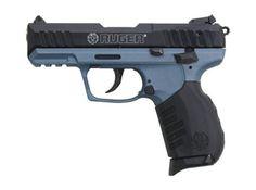 """Ruger SR22 .22 LR, Blue Titanium Frame, 3.5"""", 10rd"""