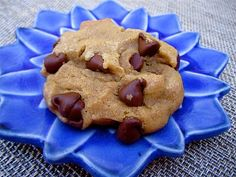 No Butter Chocolate Chip Cookies- so good for when you're out of butter!