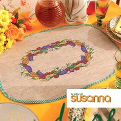 LE IDEE DI SUSANNA č. 310 - únor 2016 na www.finery.cz Plates, Tableware, Licence Plates, Dishes, Dinnerware, Griddles, Tablewares, Dish, Place Settings