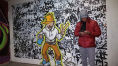 Me and a much cooler guy in a tunnel in Reykjavik, Iceland.