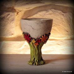 © Kreativwerkstatt-Fleury www.fleury.de This totally looks like something in my own pottery journal. Love it!