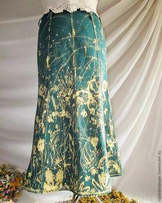Расписываем юбку белизной из шприца - Ярмарка Мастеров - ручная работа, handmade