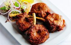 Peshwari Lamb Kebab Recipe from Alfred Prasad - perfect #fordad on Father's Day