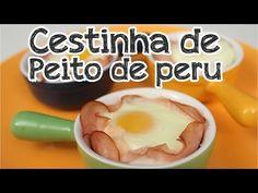 Cestinha de peito de peru com ovo - Cozinha pra 1 - YouTube