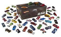 Hot Wheels Basic Car 50-Pack: Christmas Gifts