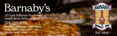Barnaby's - Reader's Choice South Bend's favorite pizza, sandwiches and homemade soups in Downtown South Bend
