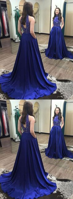 cheap prom dress, long prom dress, formal prom dress – moddprom The something old signifies the bond for the bride's household. dresses dresses bautizo dresses for wedding dresses quinceanera dresses vestidos proposal ideas de boda madrina dresses Royal Blue Formal Dresses, Blue Evening Dresses, Evening Gowns, Dress Formal, Formal Prom, Formal Gowns, Prom Long, Formal Wear, Prom Dresses 2018