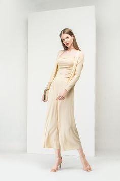 #AdoreWe Few Moda, Minimalistic Fashion Brands Online - Designer Few Moda Retro Plain  Set TP1823 - AdoreWe.com