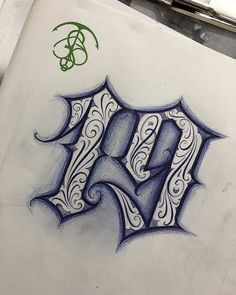 Calligraphy Tattoo Fonts, Tattoo Fonts Alphabet, Tattoo Lettering Styles, Chicano Lettering, Graffiti Lettering Fonts, Tattoo Design Drawings, Tattoo Designs, Number Tattoo Fonts, Number Tattoos