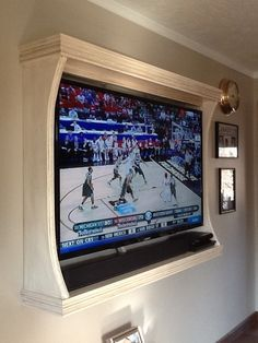 tv wall frame - Google Search