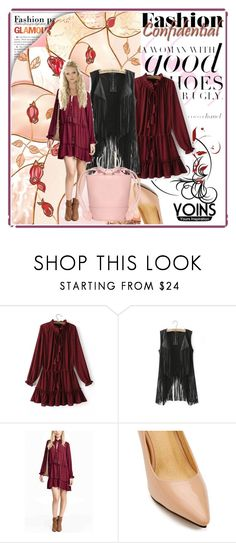 """Yoins dress"" by irinavsl ❤ liked on Polyvore featuring mode et yoins"