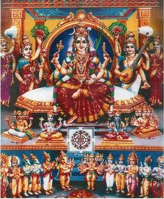 Navaratri Alankaram Nine Days Of Devi Attire. Shiva Hindu, Shiva Shakti, Hindu Deities, Hindu Art, Indian Goddess, Goddess Lakshmi, Navratri Images, Avatar, Lakshmi Images