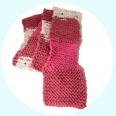 Hand Knitted Pink Checkered Scarf, Knit Winter Wear Accessories, Knitted Scarf In Shades of Pink, Fall Weather Scarf Knitted, Pink Scarf by NiftynNeedlin on Etsy