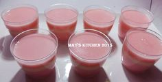 May's Kitchen: PUYO LAVA (PUDING PUYO) Snack Box, Jelly Recipes, Indonesian Food, Lava, Good Food, Food And Drink, Pudding, Sweets, Snacks
