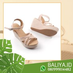 Jual Sandal Wedges Sandal Wedges, Wedge Sandals, Bali, Flats, Model, Shoes, Agar, Loafers & Slip Ons, Zapatos