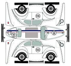 VW Beetle , Herbie!