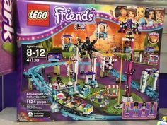 Lego Friends Amusement Park Rollercoaster $120 ~ Lego Friends Sets summer 2016