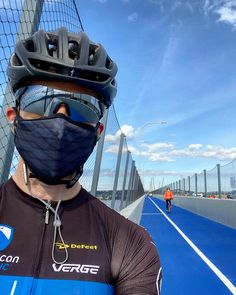 I keep a mask in my pocket during rides when I might not be able to keep my distance from others. #cycling My Pocket, Distance, Riding Helmets, Cycling, Fashion, Moda, Bicycling, Long Distance, Fasion