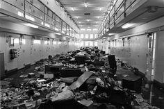 1980 prison riot, Santa Fe, NM.  New Mexico Penitentiary.