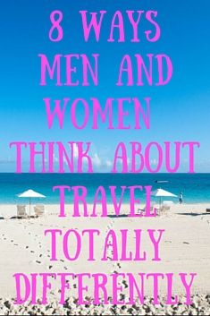 Women research and plan more, and do the vast majority of the decision-making. Here's a number for you: 80 percent of all travel decisions -- Plane Ride, Jet Plane, Search Everything, Men Are From Mars, What Men Want, Popular Stories, The Older I Get, Travel News, Men And Women