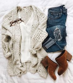 Warm and soft cardi