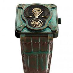 Bell & Ross - Skull Bronze Tourbillon