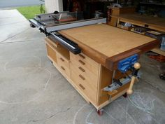 Table saw, workbench, router table?