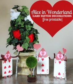 alice in wonderland crafts - <3