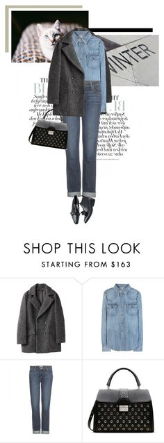 """""""Everybody everywhere, feel it in the air"""" by veronicamastalli ❤ liked on Polyvore featuring Polo Ralph Lauren, Paige Denim and RED Valentino"""