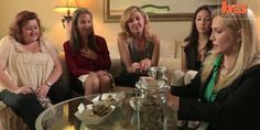 A group of women in Beverly Hills say smoking pot is the secret to their parenting success.