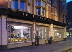 The Botanist Sloane Square - London - (Near Victoria Tube for possible tour meetup location)