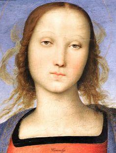 Madonna & Child, c. 1500  Pietro Perugino  Italian, 1450-1523  Detroit Institute of Art