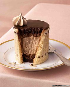 Chocolate Joconde Cake: Use this recipe for our Individual Chocolate-Espresso Charlottes.